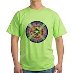 Labryinth Green T-Shirt