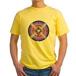 Labryinth Yellow T-Shirt