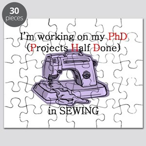 Sewing (projects half done) P Puzzle