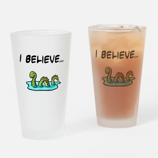 I Believe in the Loch Ness Mo Drinking Glass