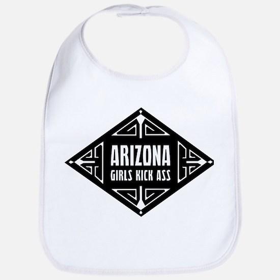 Arizona Girls Kick Ass Bib
