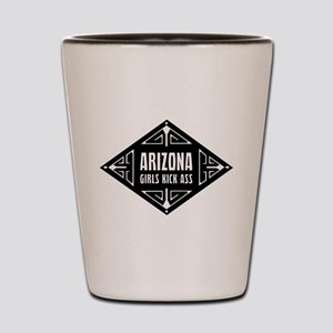 Arizona Girls Kick Ass Shot Glass