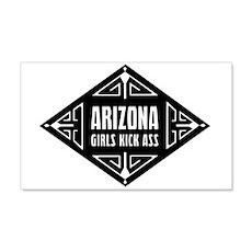 Arizona Girls Kick Ass 22x14 Wall Peel