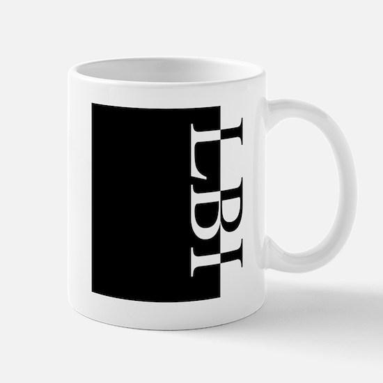 LBI Typography Mug