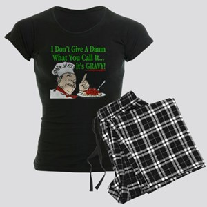It's Gravy! Women's Dark Pajamas