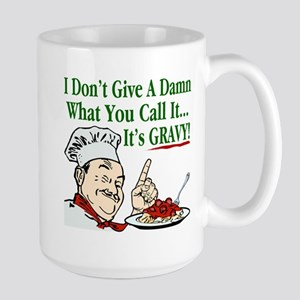 It's Gravy! Large Mug
