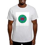 peace love twins Ash Grey T-Shirt