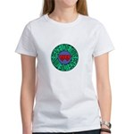 peace love twins Women's T-Shirt