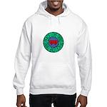 peace love twins Hooded Sweatshirt