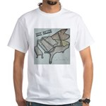 Jeff Miller Digital Singles Square Crop T-Shirt