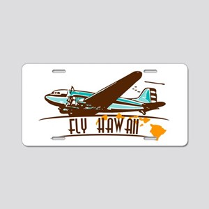 """Take-off"" Logo Aluminum License Plate"