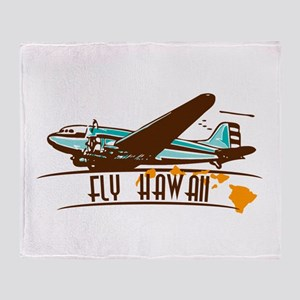 """Take-off"" Logo Throw Blanket"