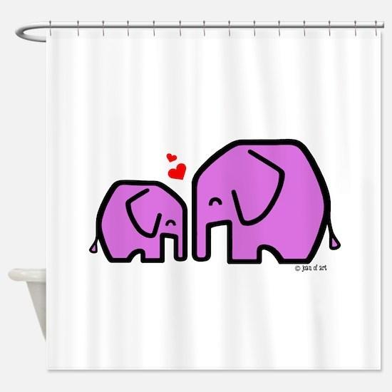 Kiiri & Kiiri (2) Shower Curtain