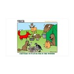 KNOTS Woodland Creatures Cartoon 38.5 x 24.5 Wall