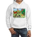 KNOTS Woodland Creatures Cartoon Hooded Sweatshirt