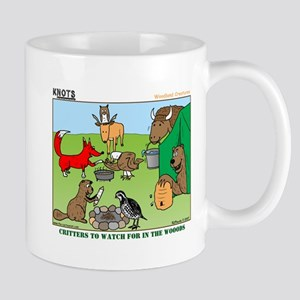 KNOTS Woodland Creatures Cartoon Mug