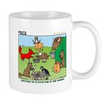KNOTS Woodland Creatures Cartoon Mug