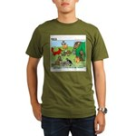 KNOTS Woodland Creatures Cartoon Organic Men's T-S