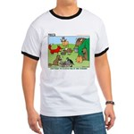 KNOTS Woodland Creatures Cartoon Ringer T