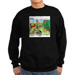 KNOTS Woodland Creatures Cartoon Sweatshirt (dark)