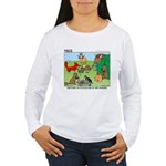 KNOTS Woodland Creatures Cartoon Women's Long Slee