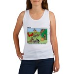 KNOTS Woodland Creatures Cartoon Women's Tank Top