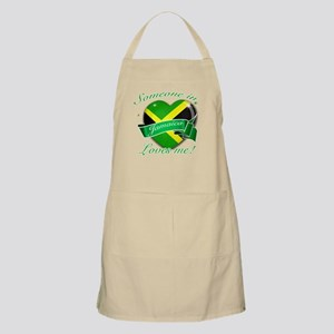Jamaica Flag Design Apron