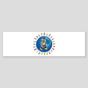 Autism-1 Sticker (Bumper)
