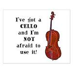 I've Got a Cello Small Poster