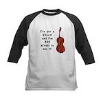 I've Got a Cello Kids Baseball Jersey