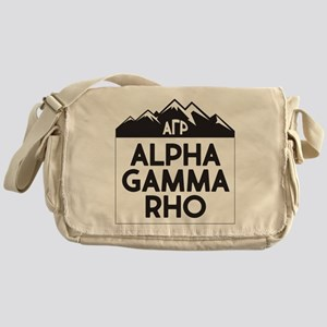 Alpha Gamma Rho Mountains Messenger Bag