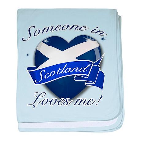 Scotland Flag Design baby blanket