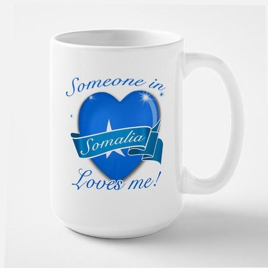 Somalia Flag Design Large Mug