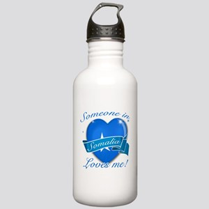 Somalia Flag Design Stainless Water Bottle 1.0L