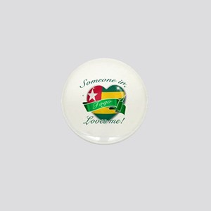Togo Flag Design Mini Button