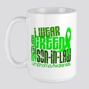 I Wear Lime 6.4 Lymphoma Large Mug