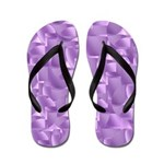 Purple Flippity Flop Flip Flops