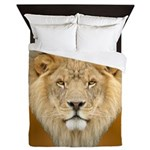 African Lion Queen Duvet