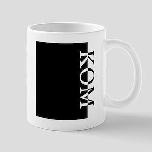 KOM Typography Mug