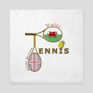 Wales British Tennis Queen Duvet