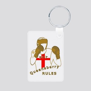 England GB Boxing Aluminum Photo Keychain