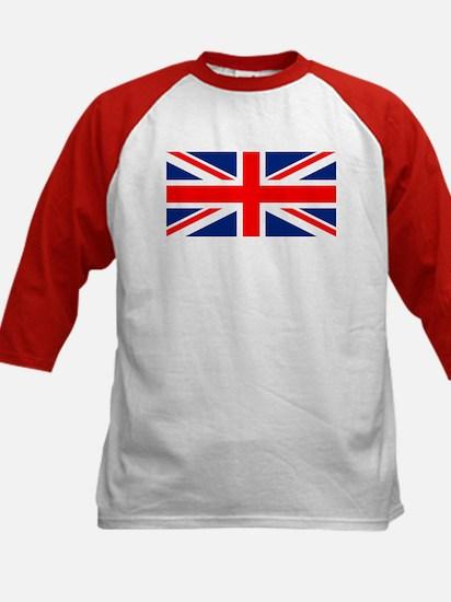 England GB Boxing Kids Baseball Jersey