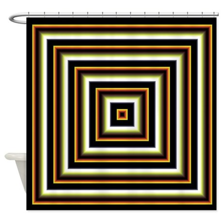 Decorative Pattern Shower Curtain