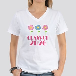 2026 School Class Women's V-Neck T-Shirt
