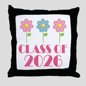 2026 School Class Throw Pillow