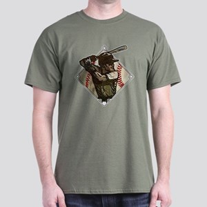 Baseball Diamond Batter Dark T-Shirt