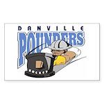 Pounders Sticker (Rectangle 10 pk)