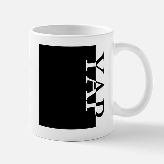 YAP Typography Mug