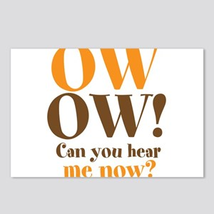 OW! OW! Postcards (Package of 8)