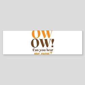 OW! OW! Sticker (Bumper)